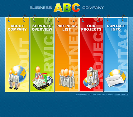 Name: ABC Business - Type: Flash template - Item number:300109804