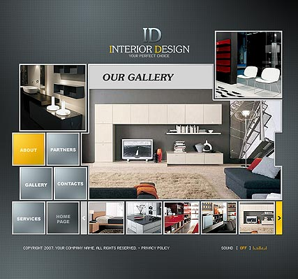 Name: Interior Design - Type: Flash template - Item number:300109808