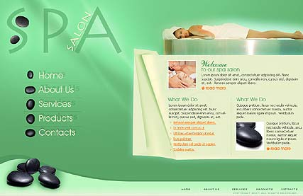 Name: SPA - Type: Flash template - Item number:300109820