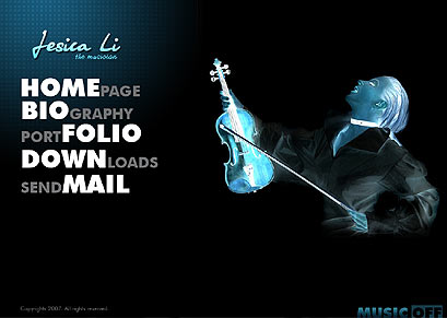 Name: The Musician - Type: Flash template - Item number:300109829