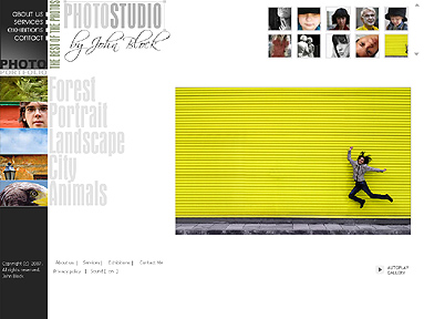 Photo Studio, Dynamic Photo Gallery Admin flash template