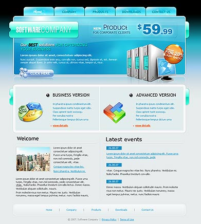 Php template download dreamweaver