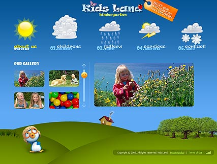 Kindergarten | Flash template | ID:300110043