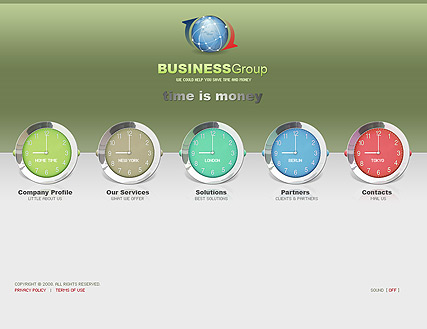 business time | Flash template | ID:300110049