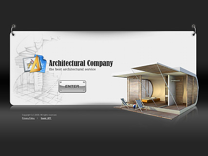 Architectural co., Easy flash template