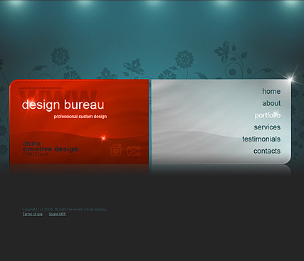Design bureau, Easy flash template
