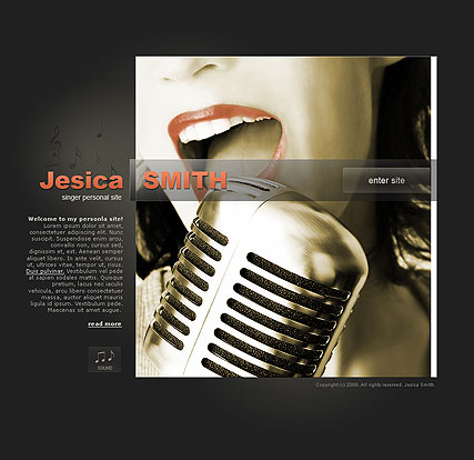 Singer Personal, Easy flash template