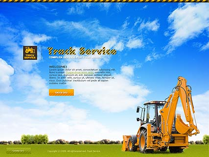 Track service, Easy flash template