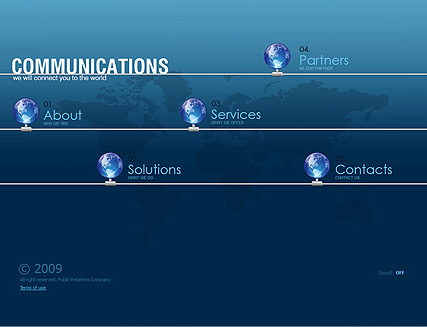 Communications, Easy flash template
