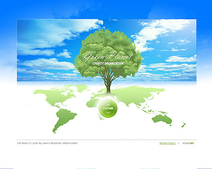 Green Planet, Easy flash template