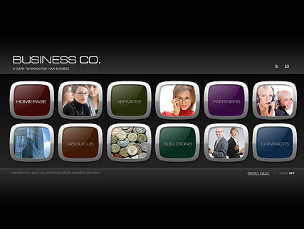 Business co., Easy flash template