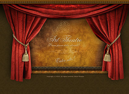 Art Theatre Easy flash template ID300110273