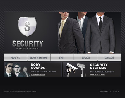 Security, Easy flash template