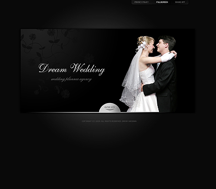 Dream wedding, Easy flash template