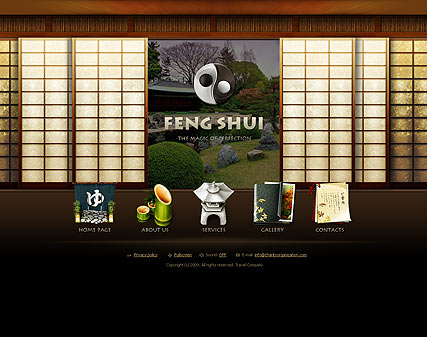 Feng Shui, Easy flash template