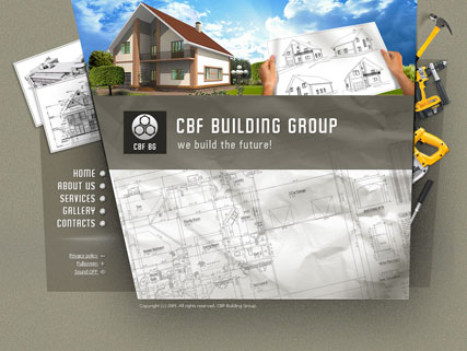 Building group, Easy flash template