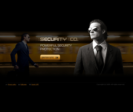 Security co., Easy flash template