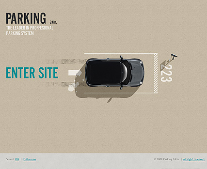 Parking 24h., Easy flash template