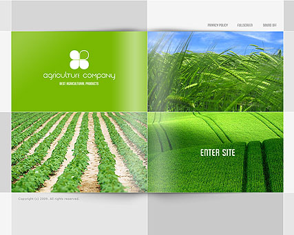Agriculture CO., Easy flash template