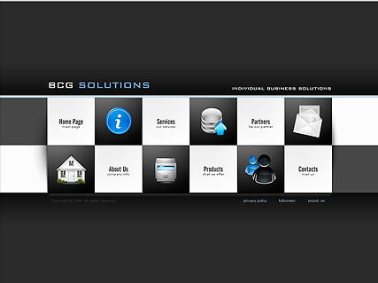 Business Solutions, Easy flash template