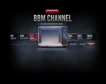 Name: TV Chanel - Type: VideoAdmin flash templates - Item number:300110494