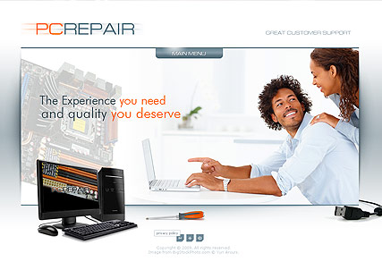 PC Repair, Easy flash template