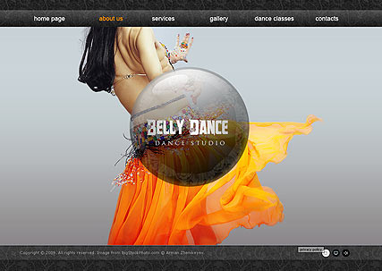 Belly Dance, Easy flash template
