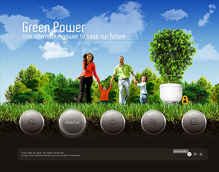 Green Power, Easy flash template