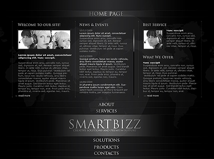 Smart Business, Easy flash template