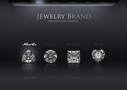Jewelry, Easy flash template