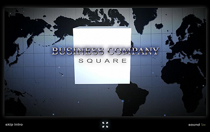 Business Square | Flash intro template | ID:300110617
