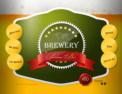 Name: Brewery - Type: VideoAdmin flash templates - Item number:300110621
