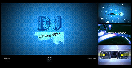 Name: DJ - Type: Flash intro template - Item number:300110689