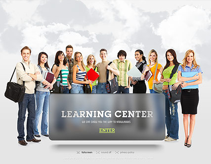 Learning Center, Easy flash template