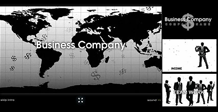 BW Business, Flash intro template