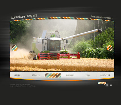 Name: Agriculture - Type: VideoAdmin flash templates - Item number:300110750
