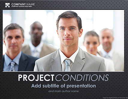 Business, Microsoft PowerPoint template