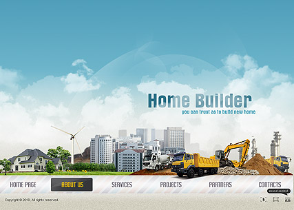 Home Builder, Easy flash template