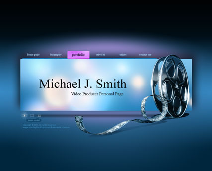 Name: Video producer - Type: VideoAdmin flash templates - Item number:300110797