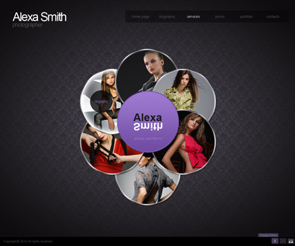 Name: Photo portfolio - Type: GalleryAdmin flash templates - Item number:300110845