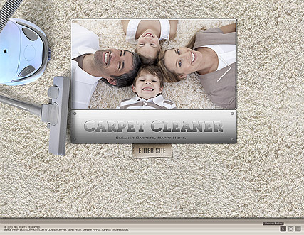 Carpet Cleaner, Easy flash template