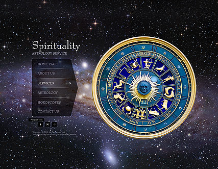 Astrology, Easy flash template