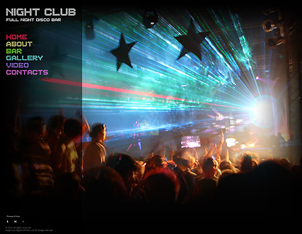 Name: Night Club - Type: PhotoVideoAdmin - Item number:300110868