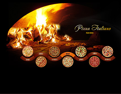 Name: Pizza - Type: VideoAdmin flash templates - Item number:300110881
