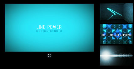 Line Design, Flash intro template