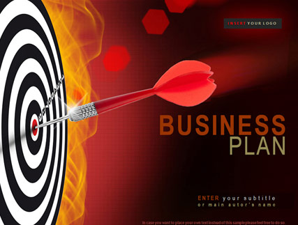 Business Plan Microsoft PowerPoint template ID300110899