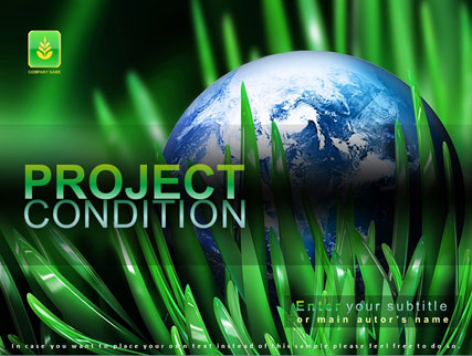 Name: Project condition - Type: Powerpoint template - Item number:300110904