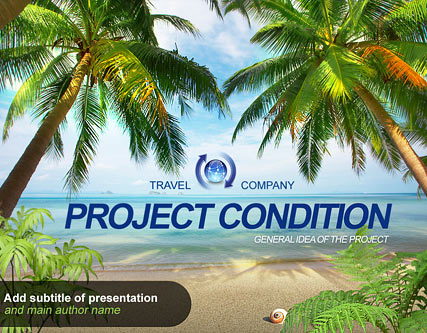 Name: Travel Project - Type: Powerpoint template - Item number:300110919