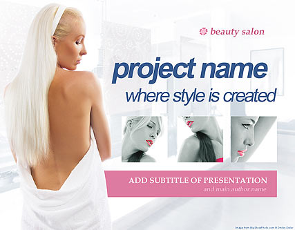 Name: Beauty Salon - Type: Powerpoint template - Item number:300110920