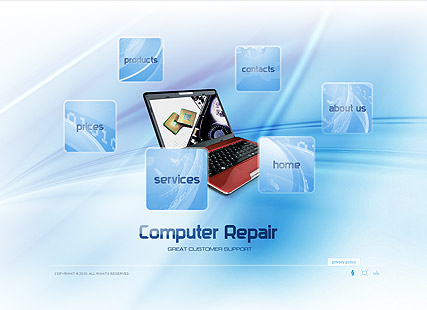 Computer Repair, Easy flash template